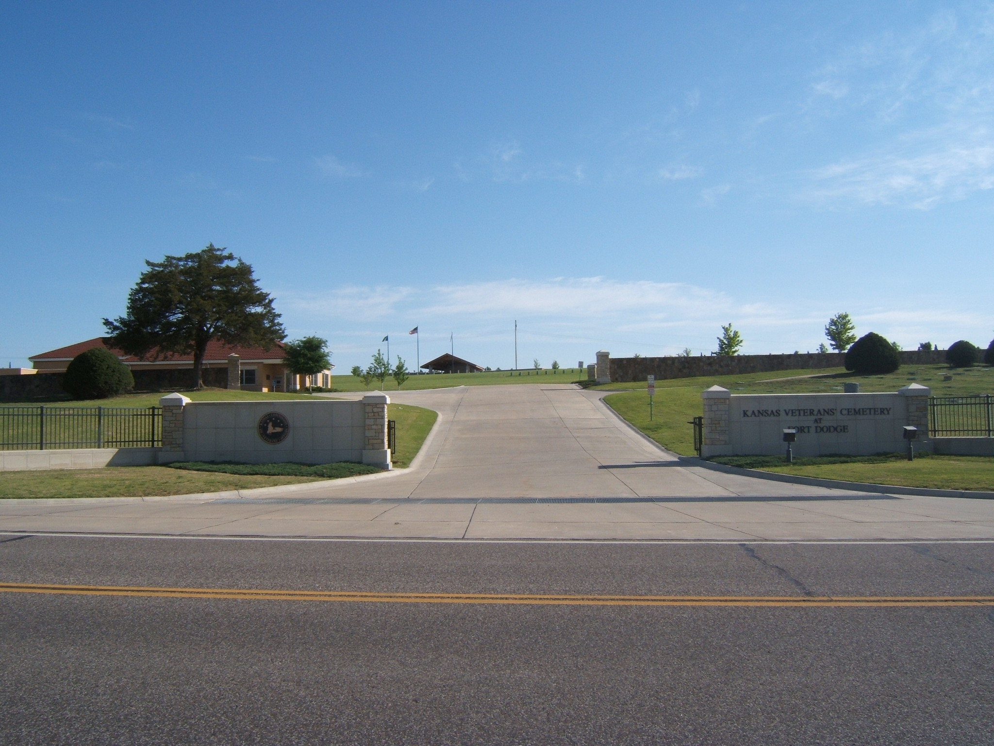 Kansas Veterans' Cemetery at Fort Dodge