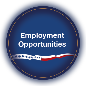 Graphic Button Link to Employment Opportunities
